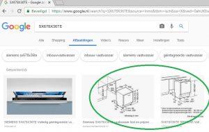 SX678X36TE in google zoeken